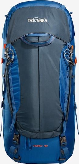 TATONKA Sac à dos de sport 'Norix 48' en bleu / bleu nuit / rouge / blanc, Vue avec produit
