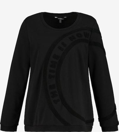 Ulla Popken Sweatshirt in schwarz, Produktansicht