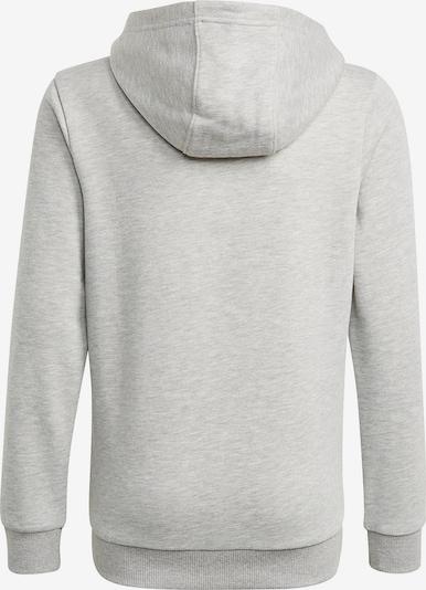 ADIDAS PERFORMANCE Sportsweatshirt in graumeliert / schwarz: Frontalansicht