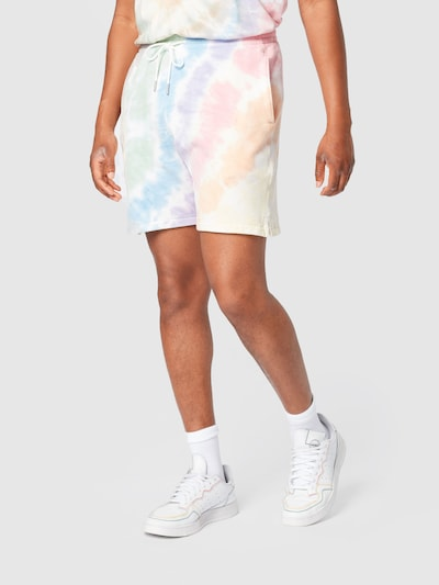 Abercrombie & Fitch Nohavice - zmiešané farby / biela, Model/-ka