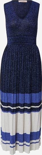 Twinset Úpletové šaty - námořnická modř / královská modrá / bílá, Produkt