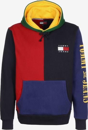 Tommy Jeans Sweat-shirt ' 90s ' en bleu / bleu foncé / jaune / vert / rouge, Vue avec produit