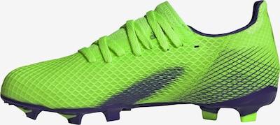ADIDAS PERFORMANCE Chaussure de sport 'X Ghosted.3' en bleu marine / vert fluo, Vue avec produit