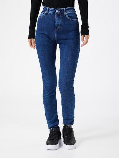 GUESS Jeans 'LUSH' in blue denim, Modelansicht