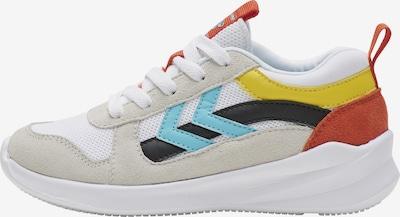 Hummel Sneaker in beige / azur / gelb / schwarz / weiß, Produktansicht