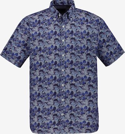 JP1880 Overhemd in de kleur Navy / Opaal / Royal blue/koningsblauw / Grijs gemêleerd / Sering, Productweergave
