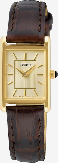 SEIKO Analog Watch in Brown / Gold, Item view