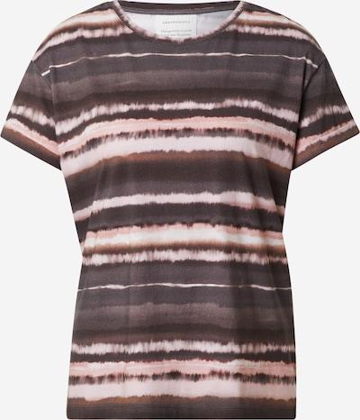 Tricou 'Naalina Winterbatik' ARMEDANGELS pe maro / roz pal / alb, Vizualizare produs