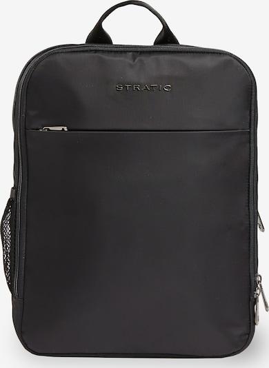 Stratic Rucksack in schwarz, Produktansicht
