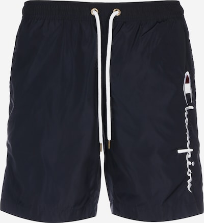 Champion Authentic Athletic Apparel Badeshorts in dunkelblau, Produktansicht