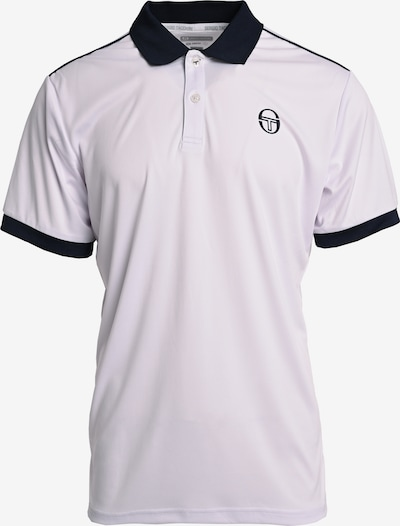 Sergio Tacchini Shirt 'CLUB TECH POLO' in de kleur Wit, Productweergave
