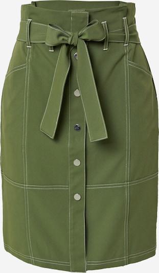 TAIFUN Spódnica w kolorze khaki / białym, Podgląd produktu