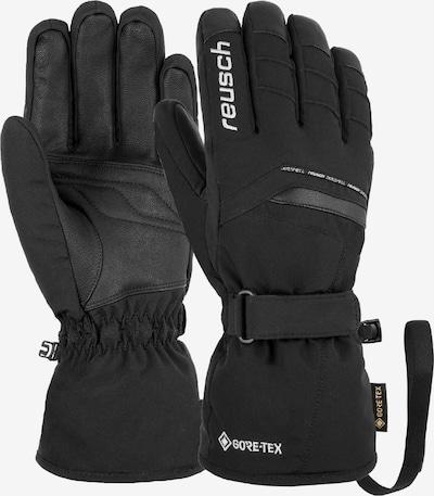 REUSCH Fingerhandschuh 'Manni GTX' in schwarz / weiß, Produktansicht