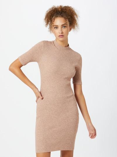 Cotton On Úpletové šaty 'Tahlia' - béžový melír, Model/ka