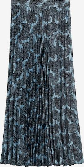 MANGO Rock 'Deno' in hellblau / dunkelgrau / schwarz, Produktansicht