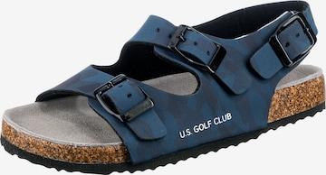 U.S Golf Club Sandalen in Blau