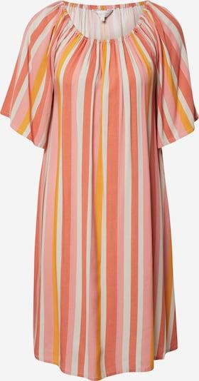 Part Two Kleid 'Irna' in gelb / koralle / rosa / weiß, Produktansicht