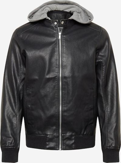 TOM TAILOR DENIM Jacke in grau / schwarz, Produktansicht