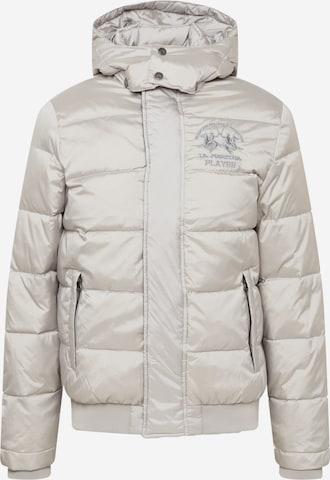 La Martina Between-season jacket in Silver