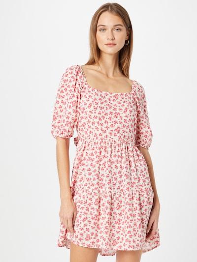 NEW LOOK Kleid 'JESSICA' in mint / pastelllila / rot / weiß, Modelansicht