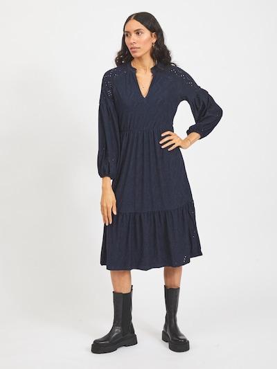 VILA Kleid 'Tamma' in navy, Modelansicht