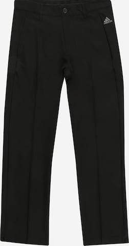 adidas Golf Sportbyxa 'SOLID' i svart