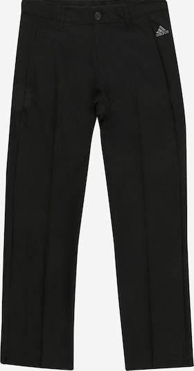 adidas Golf Sporthose 'SOLID' in silbergrau / schwarz, Produktansicht