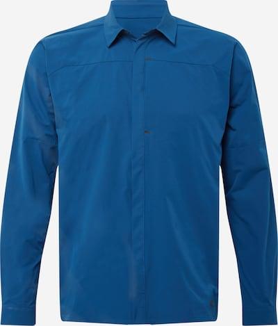 OAKLEY Chemise fonctionnelle en bleu foncé, Vue avec produit