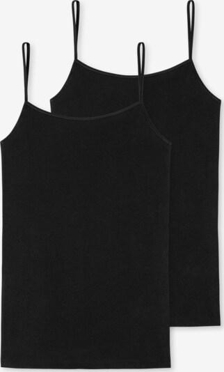 SCHIESSER Top in schwarz, Produktansicht