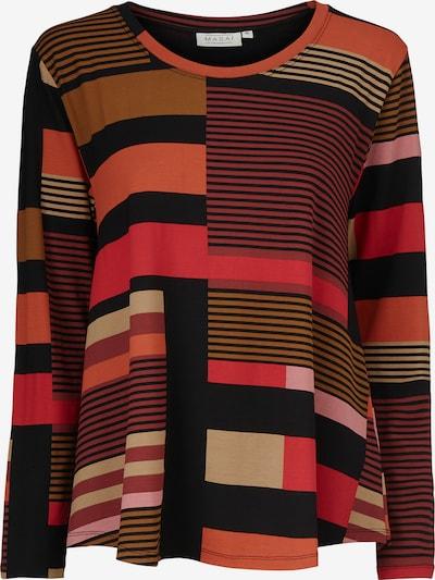 Masai Shirt 'Badisna' in mischfarben / rot, Produktansicht