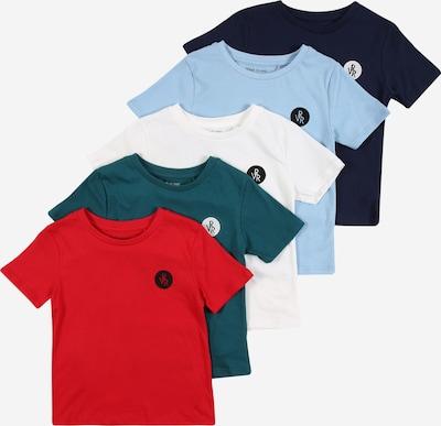 River Island Shirt in navy / hellblau / petrol / rot / weiß, Produktansicht