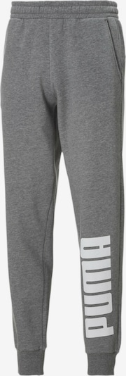 PUMA Sportbroek in de kleur Grijs / Wit, Productweergave