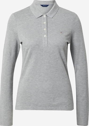 Tricou GANT pe gri, Vizualizare produs
