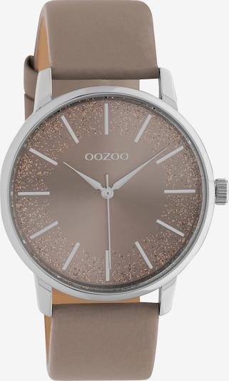 OOZOO Analoguhr in braun, Produktansicht