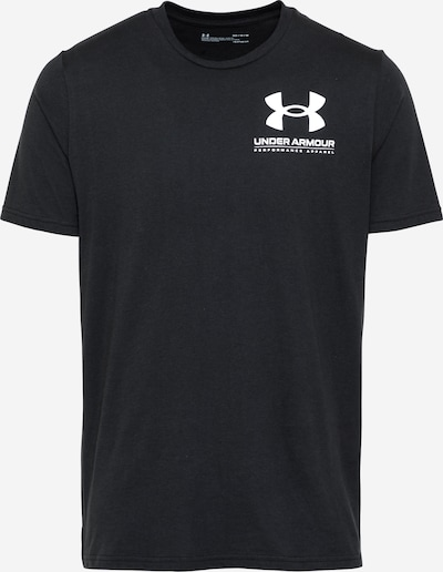 UNDER ARMOUR Funktionsshirt in schwarz / weiß, Produktansicht