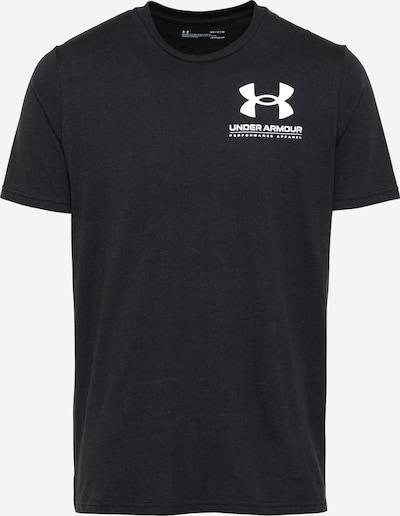 Sportiniai marškinėliai iš UNDER ARMOUR , spalva - juoda / balta, Prekių apžvalga