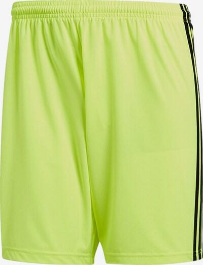 ADIDAS PERFORMANCE Hose in gelb / neongelb / schwarz, Produktansicht