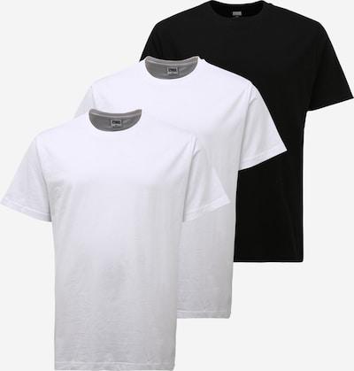 Urban Classics Big & Tall Тениска в черно / бяло, Преглед на продукта