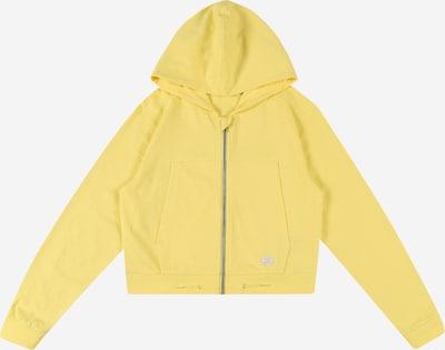 NAME IT Sweatjacke 'HADIG' in gelb / weiß, Produktansicht