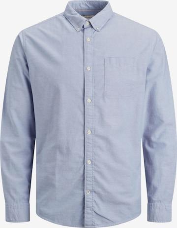 JACK & JONES Skjorte 'JJEOXFORD' i blå