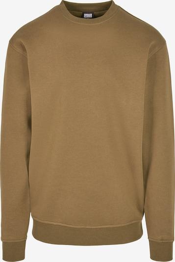 Urban Classics Big & Tall Sweatshirt in braun, Produktansicht