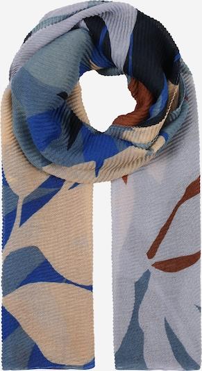 CODELLO Écharpe 'She Dandy' en beige / bleu / marron / gris, Vue avec produit