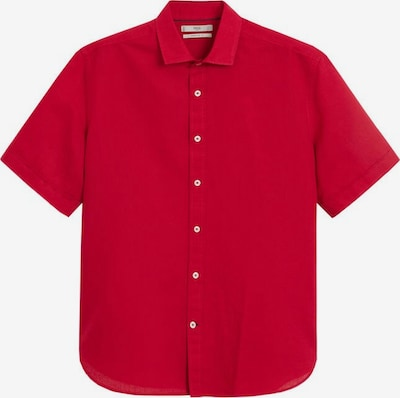 MANGO MAN Hemd 'ants-h' in blutrot, Produktansicht
