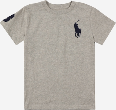 Marškinėliai iš Polo Ralph Lauren, spalva – tamsiai mėlyna / margai pilka, Prekių apžvalga