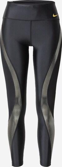 NIKE Sporthose in gelb / silbergrau / schwarz, Produktansicht