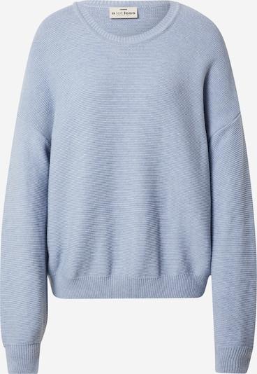 A LOT LESS Pullover 'Naja' in rauchblau, Produktansicht
