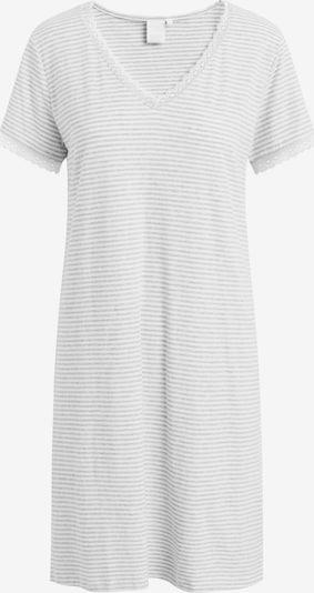 CCDK Copenhagen Nachthemd 'Mary' in grau / weiß, Produktansicht