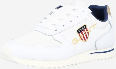 Sneaker low 'Beja' GANT pe bleumarin / auriu / roșu / alb, Vizualizare produs