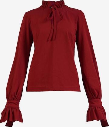 Gessica Langarmbluse 'MILANO' in Rot