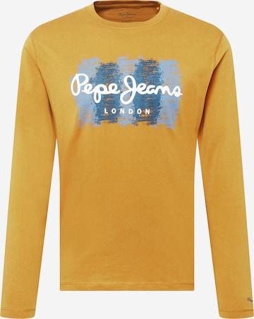 Pepe Jeans Särk 'SEBASTIAN', värv kollane